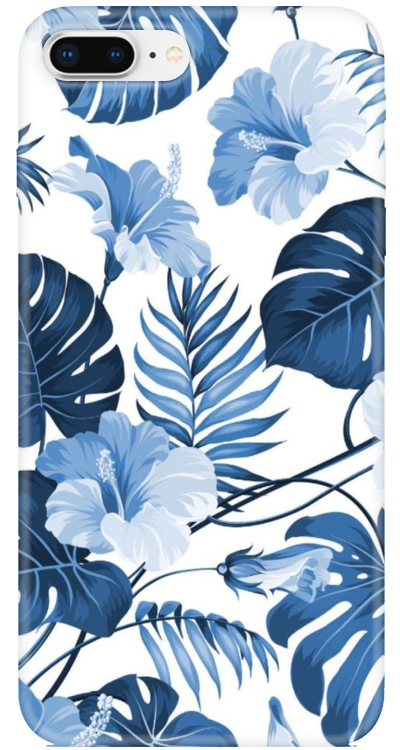 Blue Palm Leaf